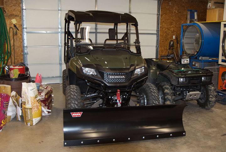 Got The Plow Winch Roof And Windshield Honda Pioneer Forum